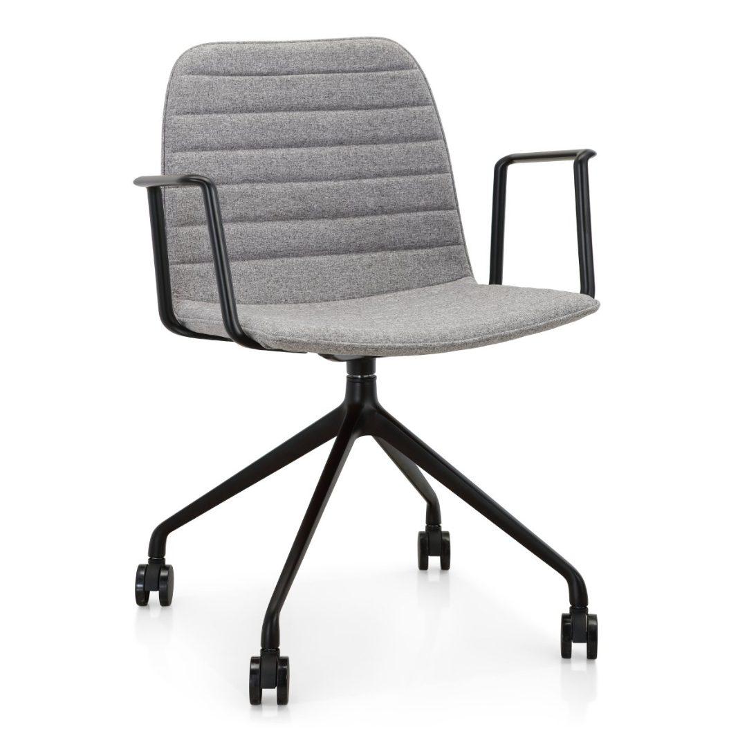 4Way Grey office chairs furniture darwin nt