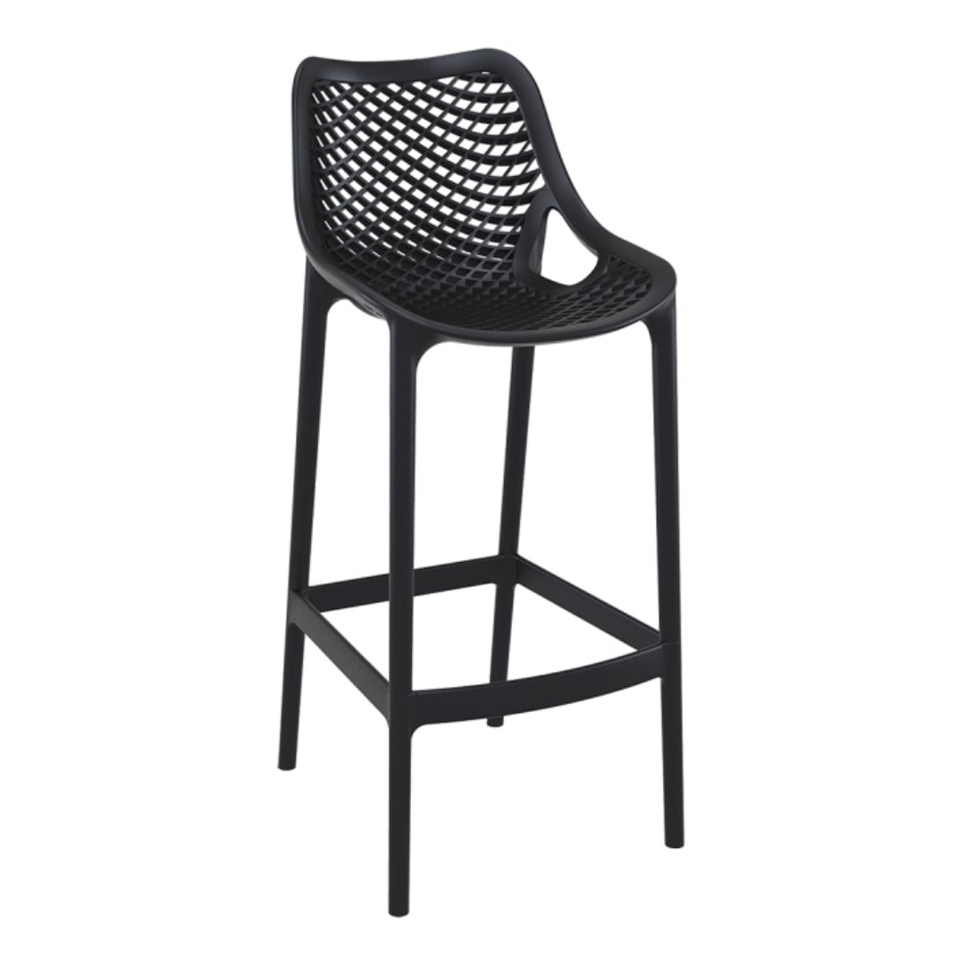 Air Barstool Black aid office furniture suppliers darwin