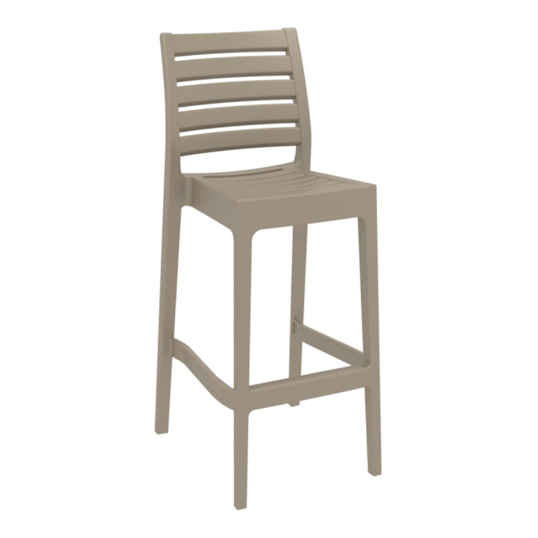 Ares high barstool chair home office furniture darwin australia