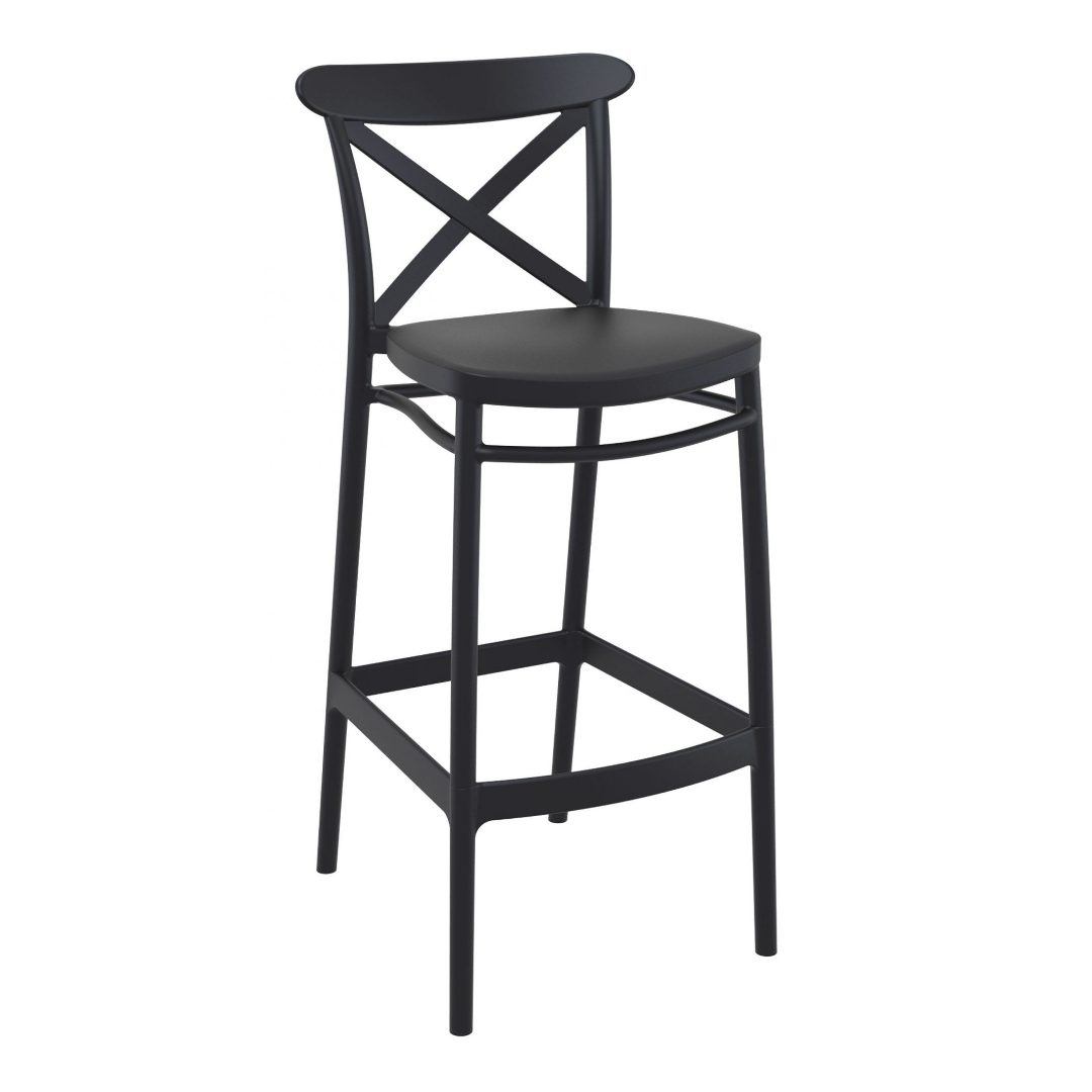 Cross barstool chair lounge furniture