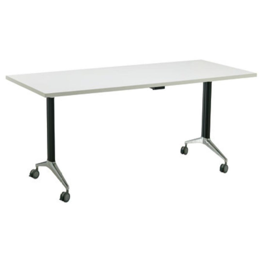 Flip Table desk wtih wheels office furmiture