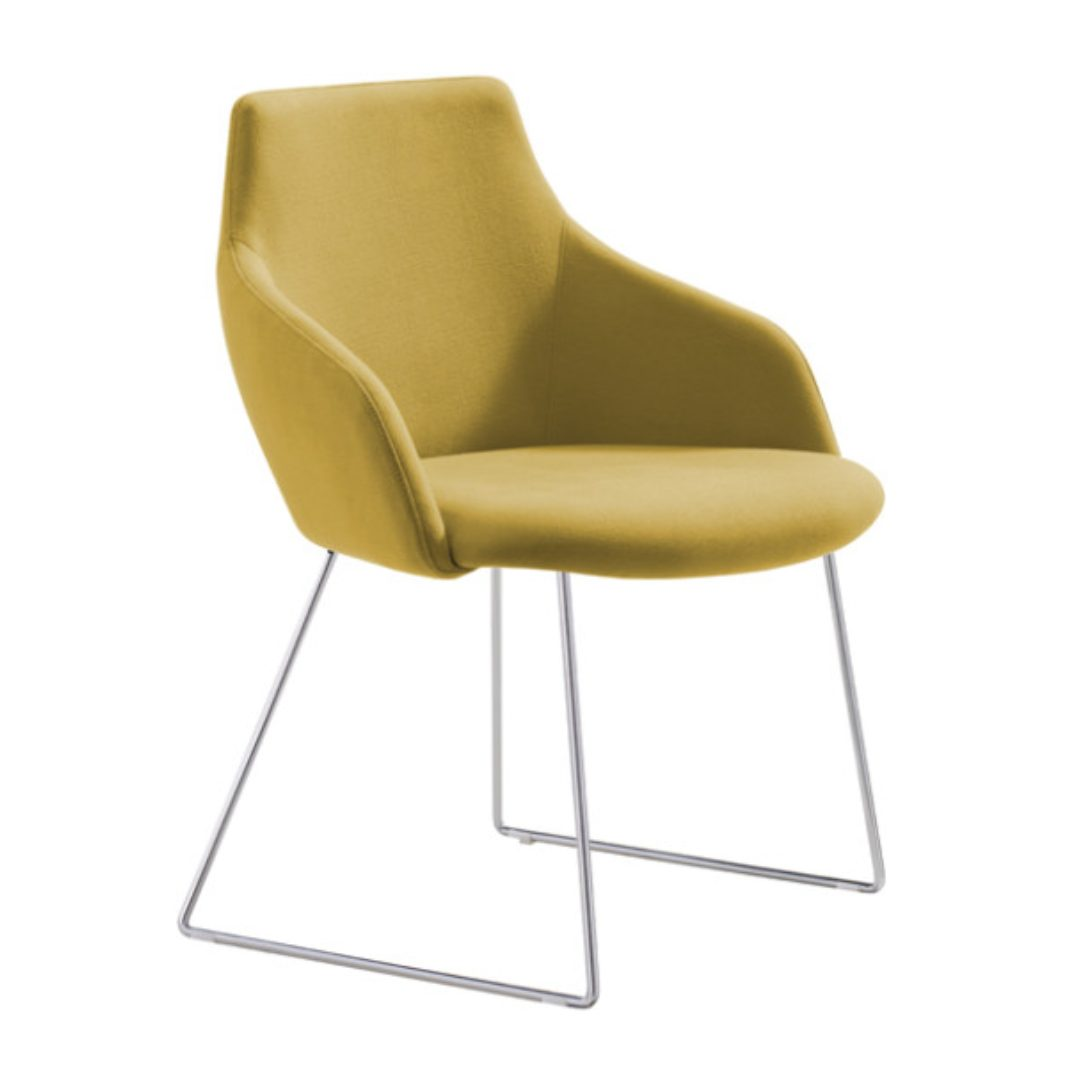 Gold Chair visitors chairs furniture australia