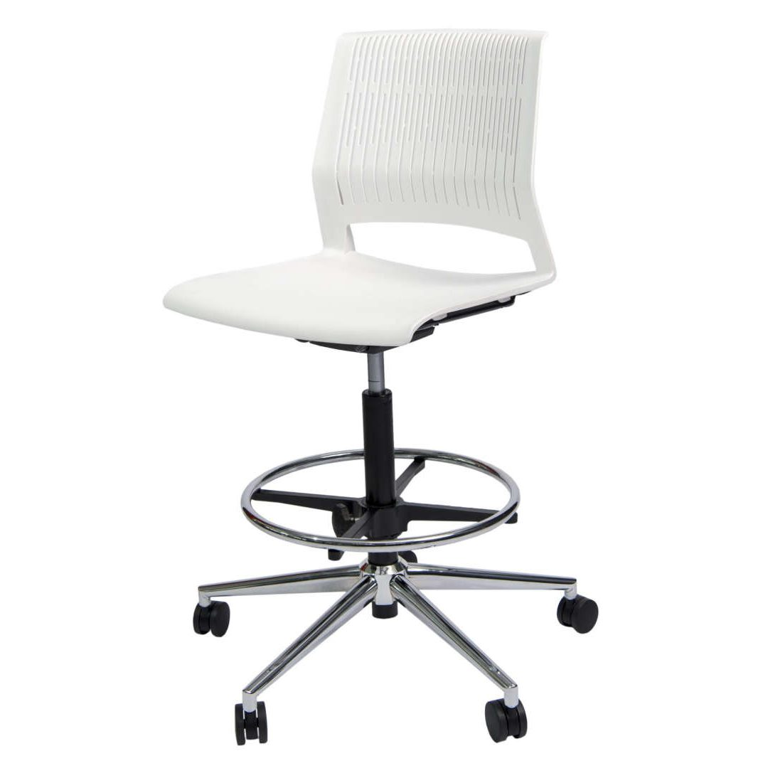 Magna Drafting armless desk chair furniture