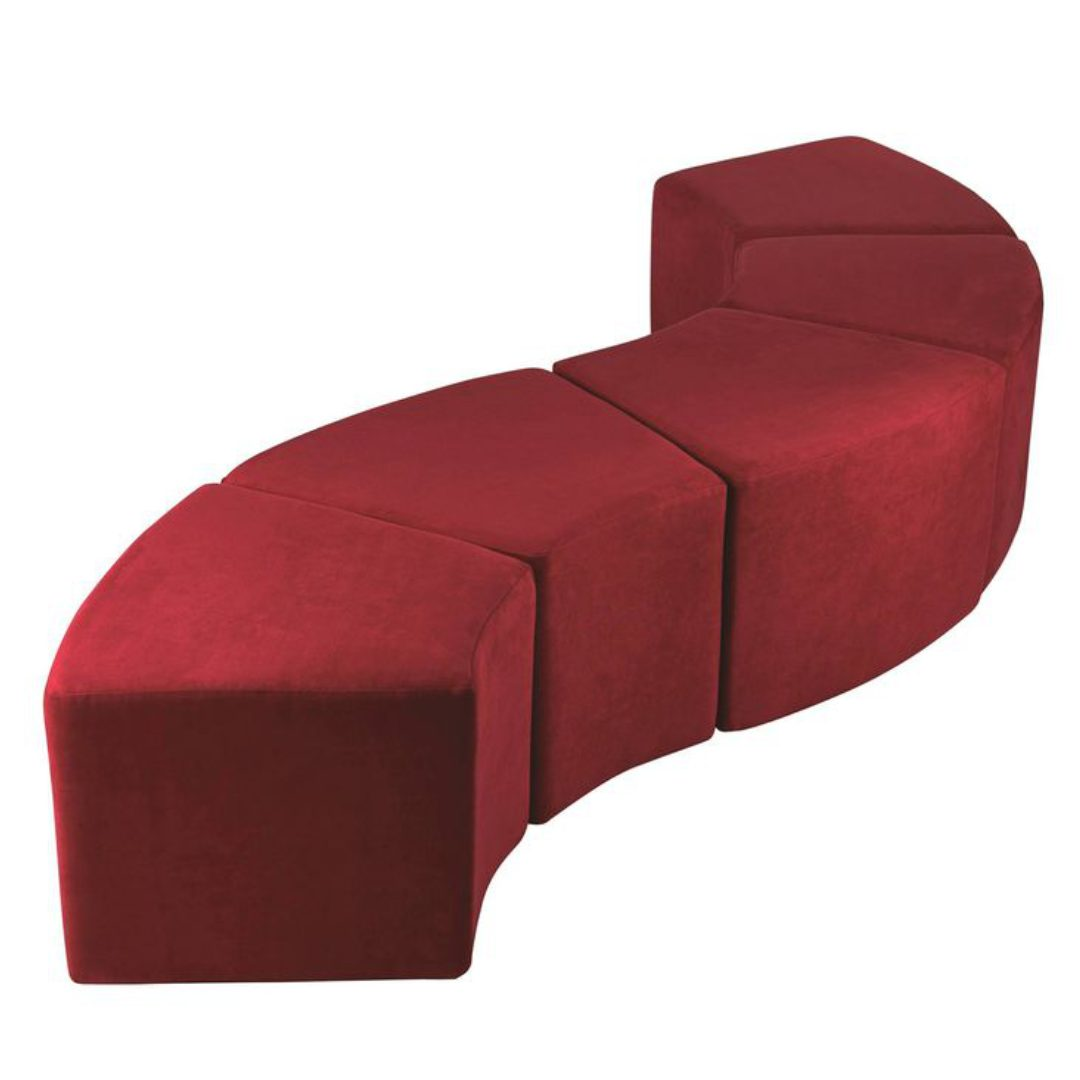 Mamba 1 stool footrest S shape office furniture darwin