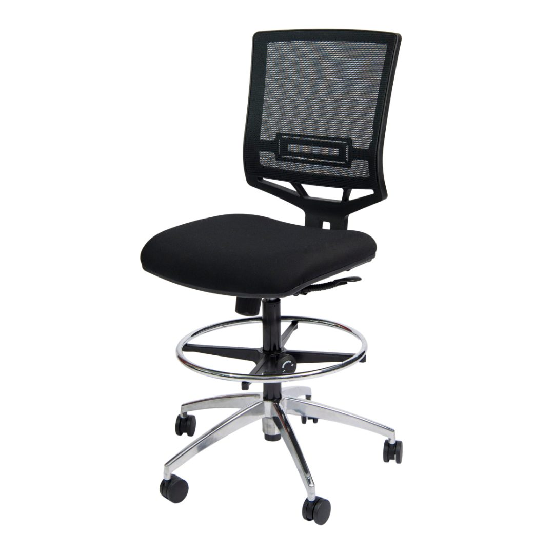 Mini Mesh Drafting armless desk chair australia