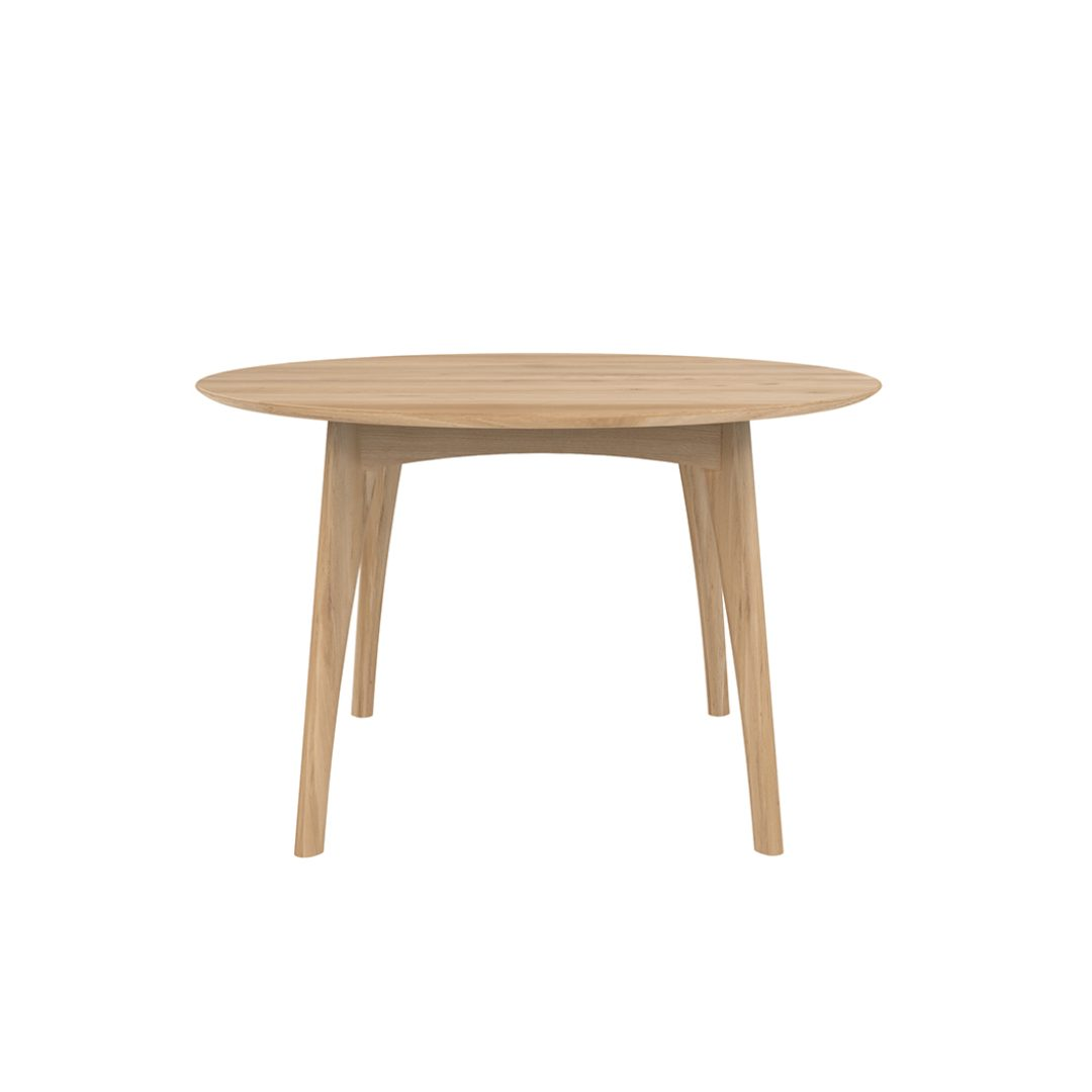 Oak Osso Table round coffee furniture store darwin
