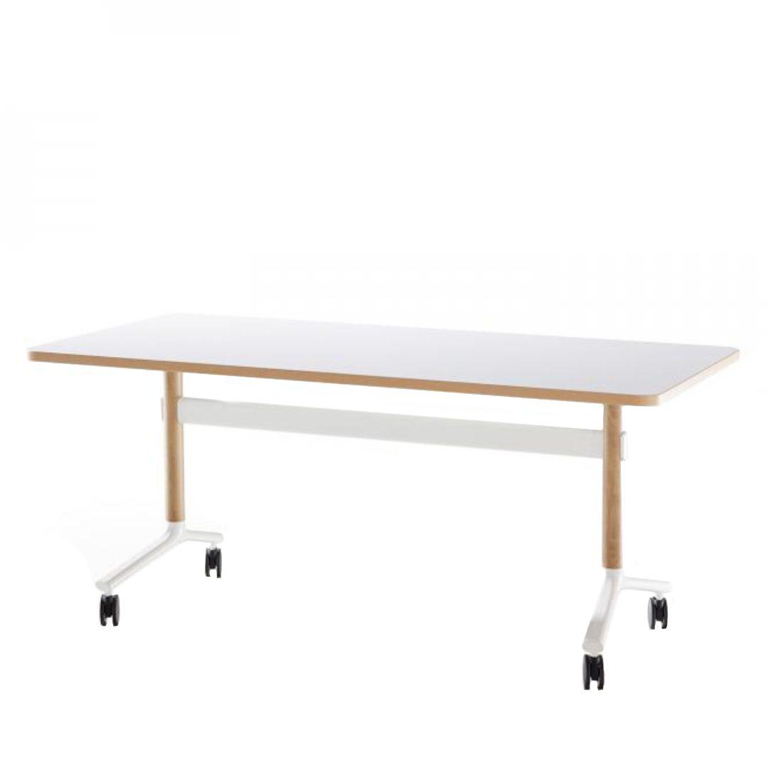 Okidoki Flip Table Single white corner desk australia